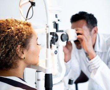 exame oftalmologista